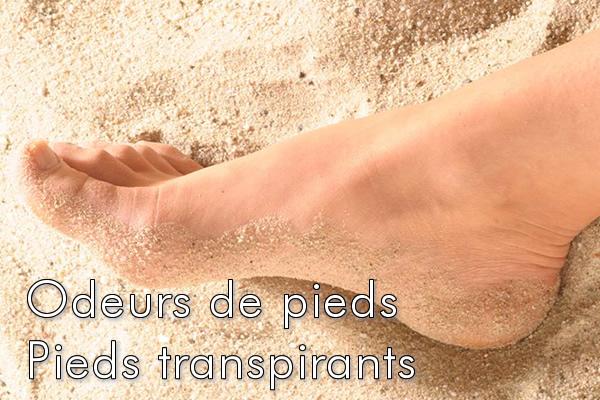 Odeurs de pieds – Pieds transpirants