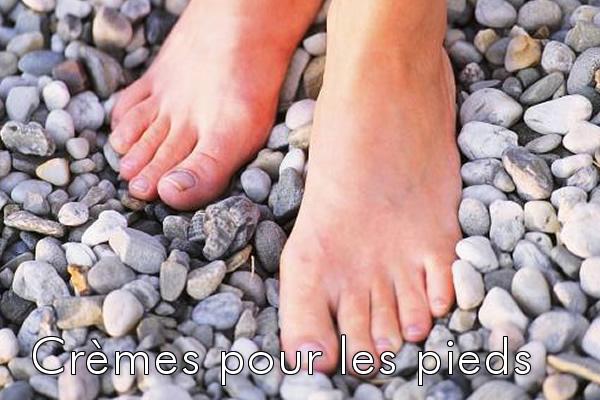 Crèmes pour les pieds