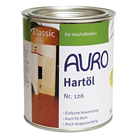 AURO - Hart-Öl 126 - 0,75L [O]